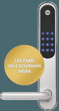 Yale Doorman ingår